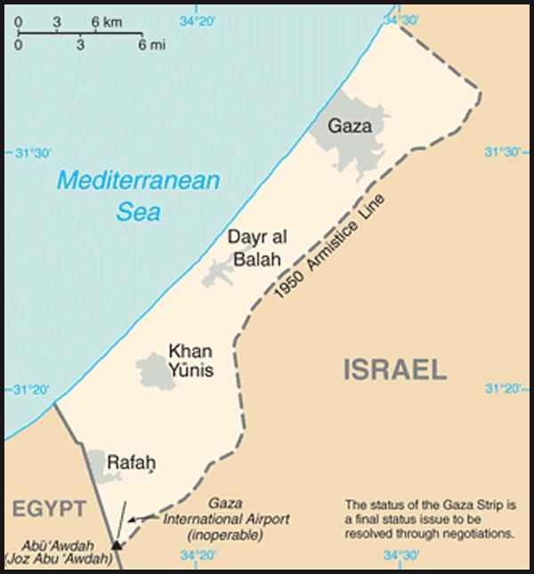 Kart over israel