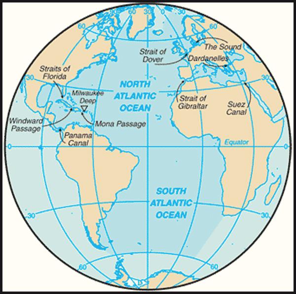 Factba.se: Country Facts - Atlantic Ocean